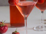 Homemade Strawberry Liqueur Two Ways