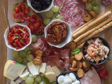 Italian Antipasto Cheese Board
