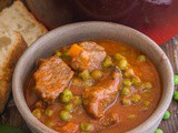 Italian Beef Stew with Peas