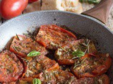 Italian Pan Fried Tomatoes