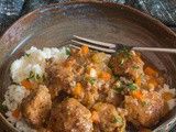 Little Meatballs with Parmesan Garlic Rice