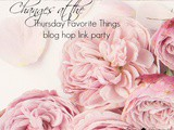 Thursday Favorite Things Blog Hop 236