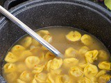 Traditional Tortellini in Brodo (in Broth)