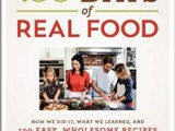 100 Days of Real Food Cookbook Giveaway
