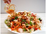Prawn Rice Noodle Salad/ Kerabu Mi Fun