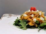 Pumpkin, Bacon and Goats Cheese Risotto