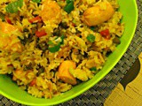Sausage Fried Rice~Indo-Chinese Cuisine