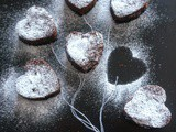 Chocolate Brownie | Heart shape food Idea