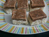 Chocolate Layer Maida Burfi | Easy Diwali Sweets