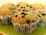 Banana and chocolate chip cup cakes My