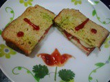 Tomato cucumber Sandwich|Simple Veg Mayonnaise Sandwich