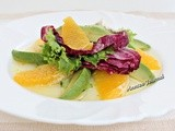 Avocado and Orange Salad