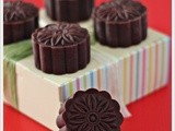 Baked Chocolate Mooncakes