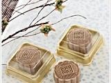 Coffee Snowskin Mooncakes