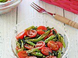 French Beans, Tomatoes & Wakame Salad