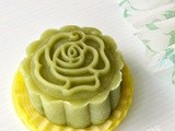 Green Tea Snowskin Mooncake