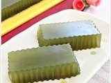 Honey Green Tea Jelly