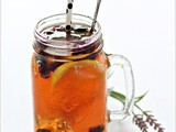 Lavender Fruit Iced Tea