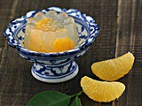 Orange Yuzu Jelly 柳橙柚子茶果冻