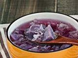 Purple Sweet Potato Dessert Soup 紫薯糖水