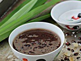 Red Bean Soup with Sago 红豆西米露