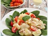 Tuna Potato Salad with Wasabi Dressing
