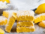 Lemon and Coconut Fudge