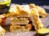 Lemon Curd Crumble Bars
