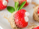 S'mores Stuffed Strawberries