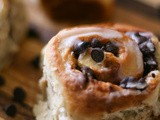 Secret Recipe Club - Easy Peasy Chocolate Chip Cinnamon Rolls