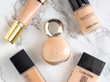 Top 5 High End Foundations (for all skin types!)