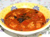 Chemmeen / Prawns Curry