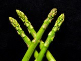 Cooking green asparagus