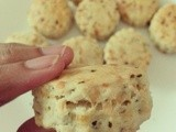 Cheese and parsely scones