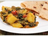Aloo Palak / Spinach & Potato Masala
