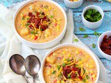 Instant Pot Corn Chowder Recipe | Potato Corn Chowder With Bacon