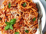 Instant Pot Spaghetti With Meat Sauce