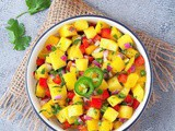 Mango Salsa Recipe | How To Make Mango Salsa