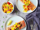 Mango Salsa Salmon Recipe | Grilled Salmon With Mango Salsa