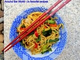 Chinese Stir Fry with Noodles