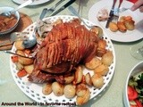 Roast Pork infused with Garlic