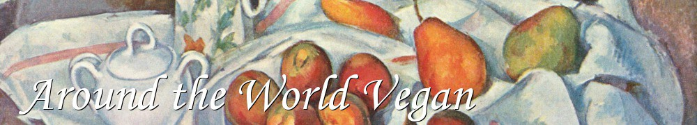 Very Good Recipes - Around the World Vegan