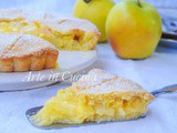 Pineapple apple pie torta ananas mele e crema