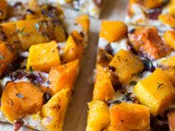 3-Cheese Butternut Squash Tart w/ Bacon