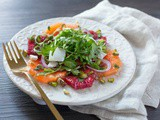 Citrus Salad with Arugula and Truffle Lemon Dressing