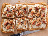Fig, Almond + Orange Vanilla Tart