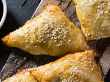 Holiday Sausage, Mushroom and Cheese Turnovers