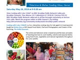 New episode of Cooking with Color 4 Kids® airing on cable tv May 24 at 9 am est in nyc