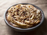 Pear and Hazelnut Salted Caramel Pie