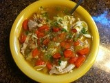 Pot of Gold: Mom's Chicken Noodle Soup